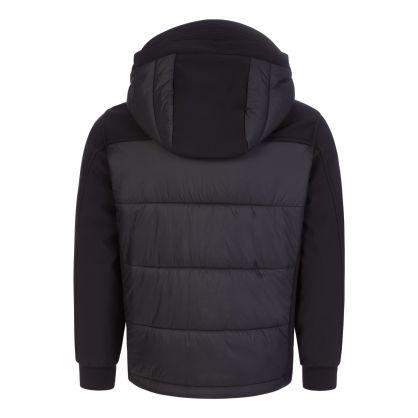 Black Mixed Shell-R Jacket