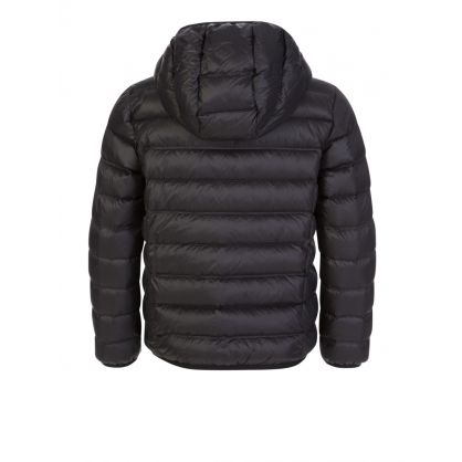Junior Black Down Quilted Jacket