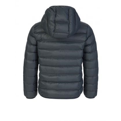 Junior Grey Padded Down Jacket