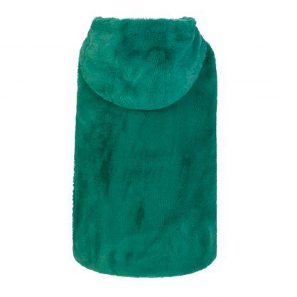 Kids Green Faux Fur Gilet