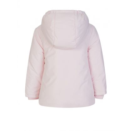 Light Pink Hooded Jacket