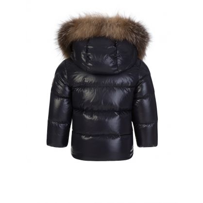 Navy K2 Fur Jacket