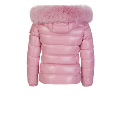 Pink Bady Fur Jacket