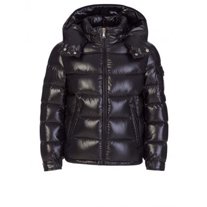 Black New Maya Padded Puffer Jacket