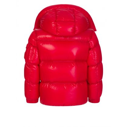 Red Ecrins Shine Quilted Jacket
