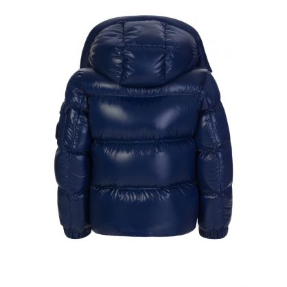 Blue Ecrins Shine Quilted Jacket