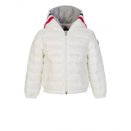 White Gaddy Baby Jacket