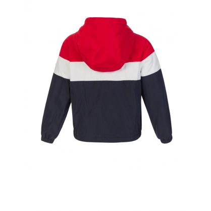 Red/White/Blue Dard Baby Jacket