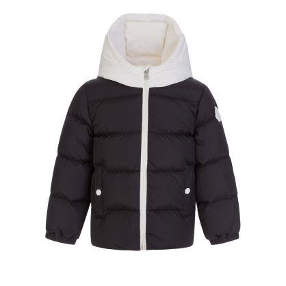 Black Down-Padded Puffer Araldo Jacket