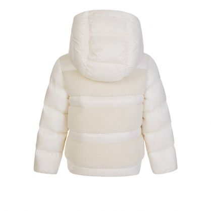 Cream Gentiane Puffer Down Jacket