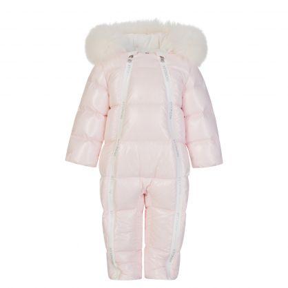Pink Deren Padded Snowsuit