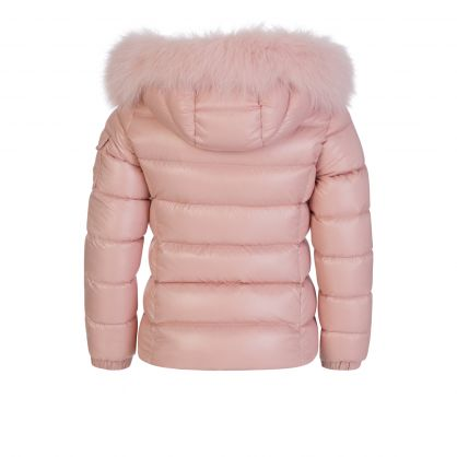 Light Pink Bady Fur Jacket