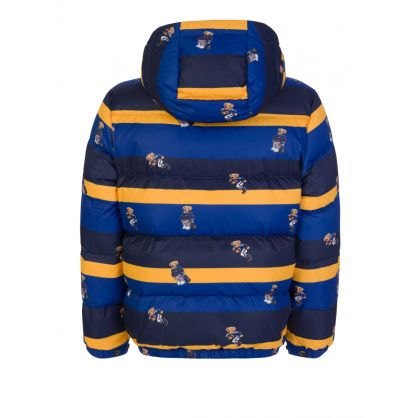 Kids Blue/Yellow Polo Bear Hawthorne Jacket