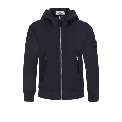 Junior Navy Soft Shell Jacket