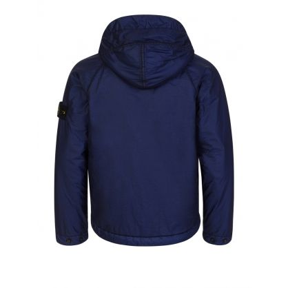 Junior Blue Primaloft Hooded Jacket