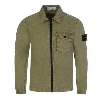 Junior Green Overshirt