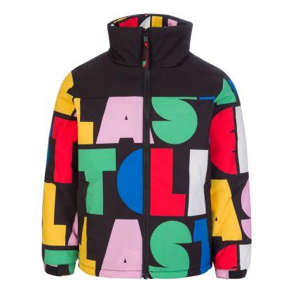 Black Stella Puffer Jacket
