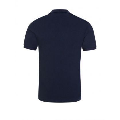 Navy Triple Gold Polo Shirt