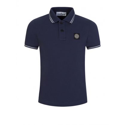 Junior Blue Polo Shirt