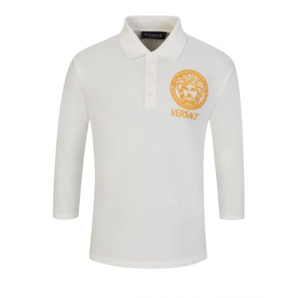 White Junior Polo Shirt