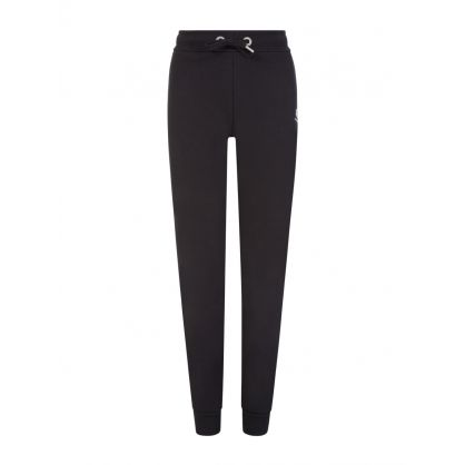 Kids Black Basic Jogger Sweatpants
