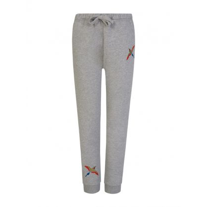 Kids Grey Tori Bird Sweatpants