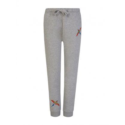 Kids Grey Tori Bird Sweatpants