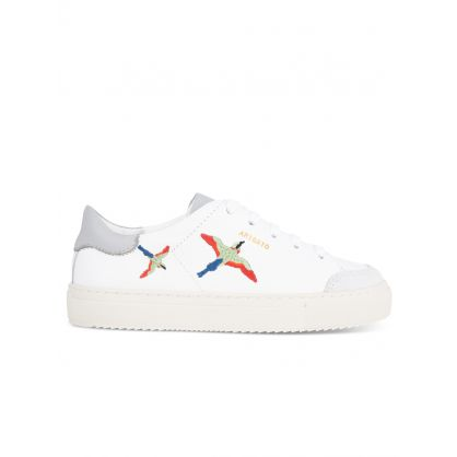 Kids White Clean 90 Bird Trainers