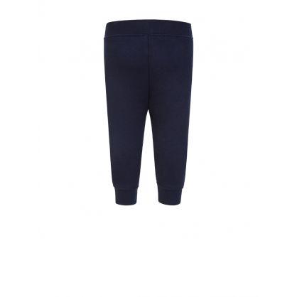 Navy Essential Logo Sweatpants