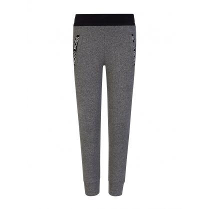 Grey Casual Jogging Sweatpants