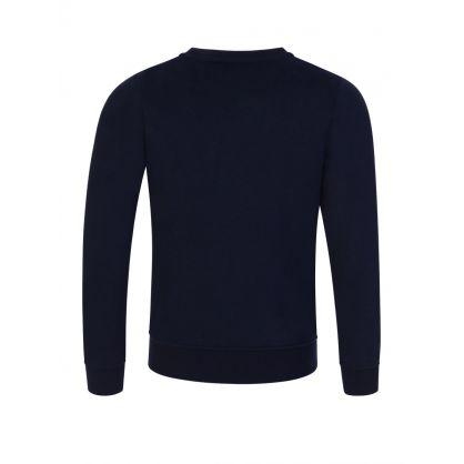 Navy Essential Logo Sweatshirt