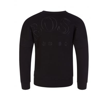 Black Tonal Logo Sweatshirt