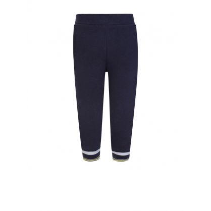 Navy Logo Jogging Sweatpants