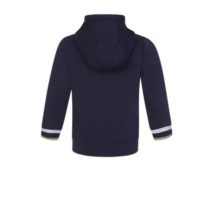 Navy Zip-Through Tracksuit Hoodie