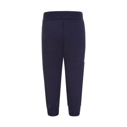 Navy Stripe Sweatpants