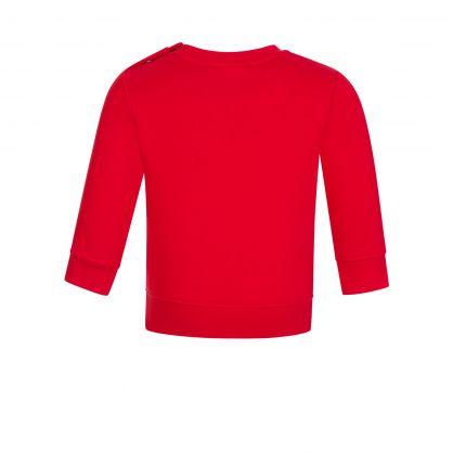 Red Essential Logo Sweatshirt