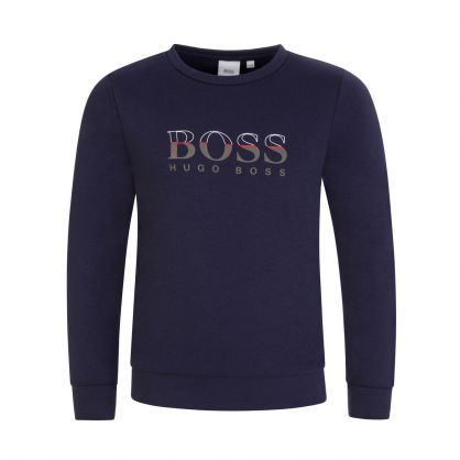 Navy Essential Sweatshirt