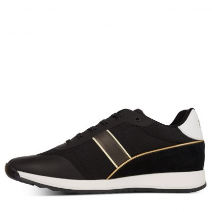 Black/Gold Capsule Trainers