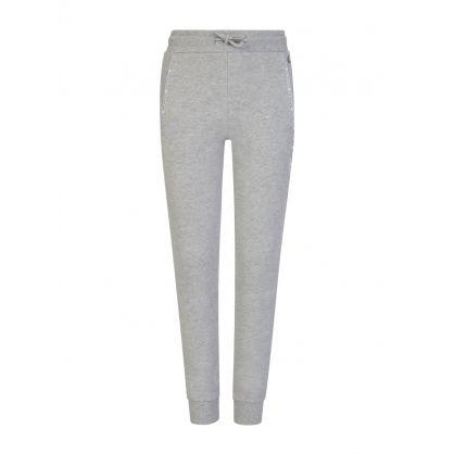 Jeans Kids Grey Logo Piping Sweatpants