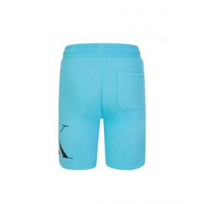 Jeans Kids Blue Hybrid Logo Shorts