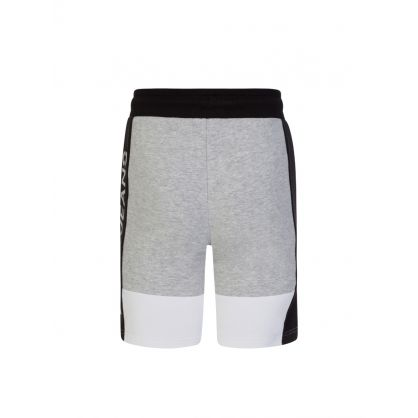 Jeans Kids Grey/Black Colour-Block Jogger Shorts
