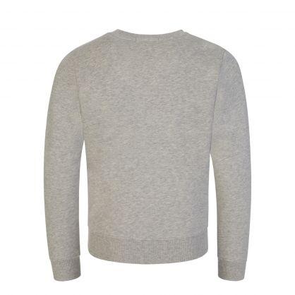 Kids Grey Monogram Logo Sweatshirt