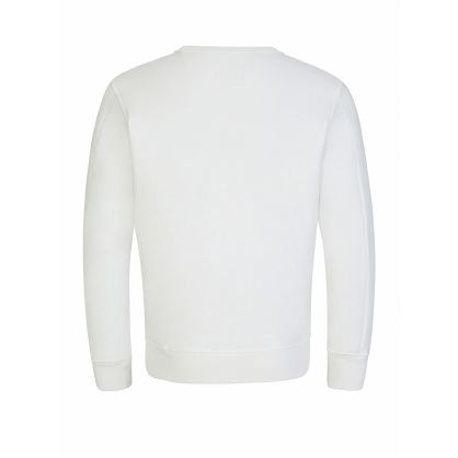 White Lens Sweatshirt