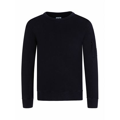 Navy Lens Sleeve Sweatshirt