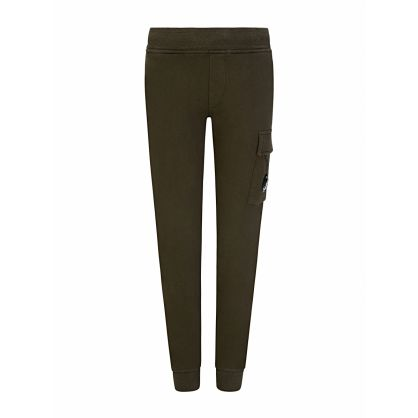 Green Lens Cargo Sweatpants