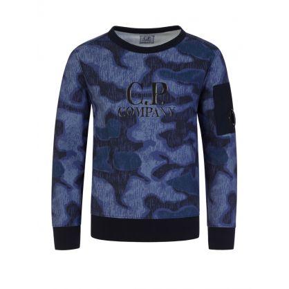 Purple Camo Sweatshirt