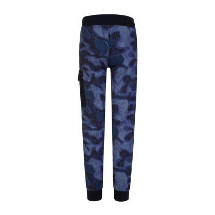 Purple Light Fleece Camo Sweatpants