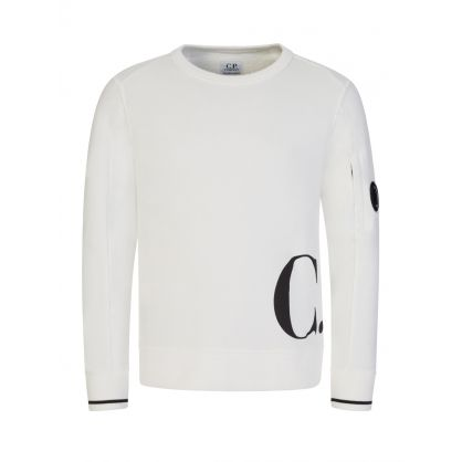 Off White Hip Logo Sweatshirt