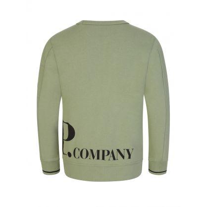 Green Hip Logo Sweatshirt