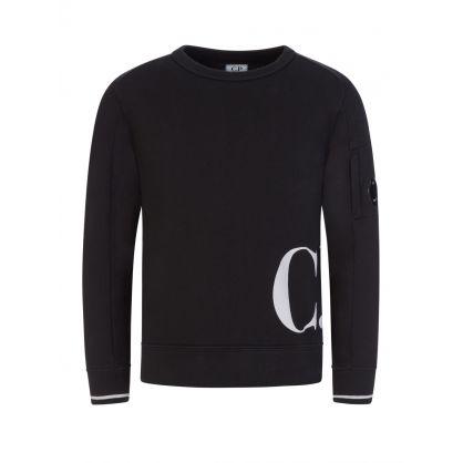 Black Hip Logo Sweatshirt
